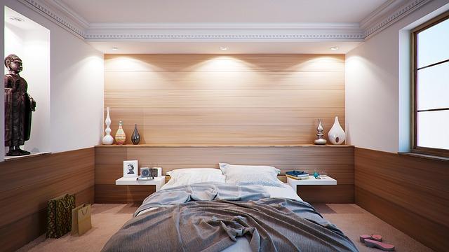 Podwójne łóżko, czyli wygoda kosztem powierzchni